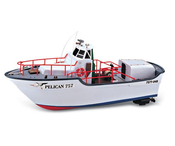 bateau de peche radiocommande rc