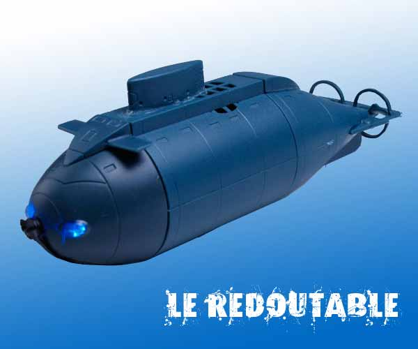 Sous Marin RC, Le redoutable